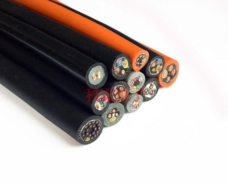 高柔性电缆 拖链电缆带屏蔽 300万次折弯