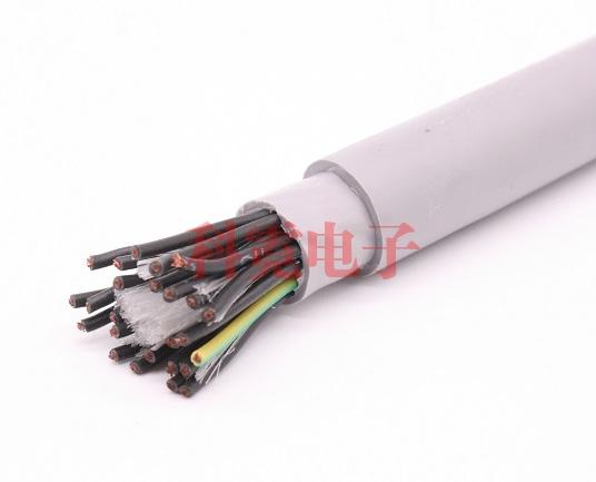 超高柔拖链电缆 双护套 600万次折弯